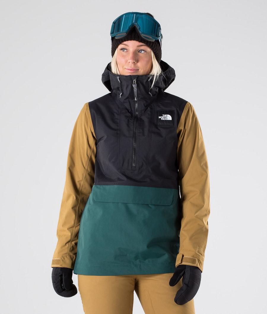 The North Face Tanager Snowboard Jacket Tnf Black/Ponderosa Green/Brtshkhk