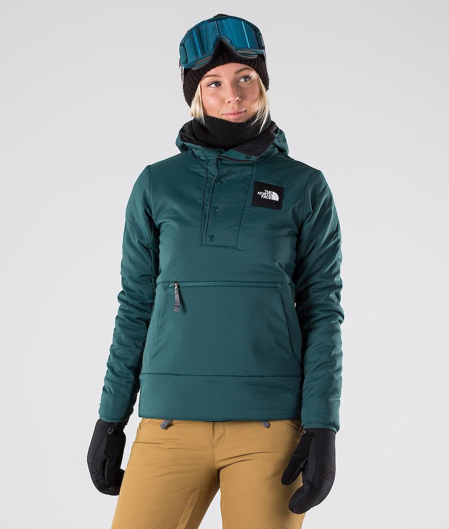 The North Face MTN Shredshirt Snowboard Jacket Ponderosa Green