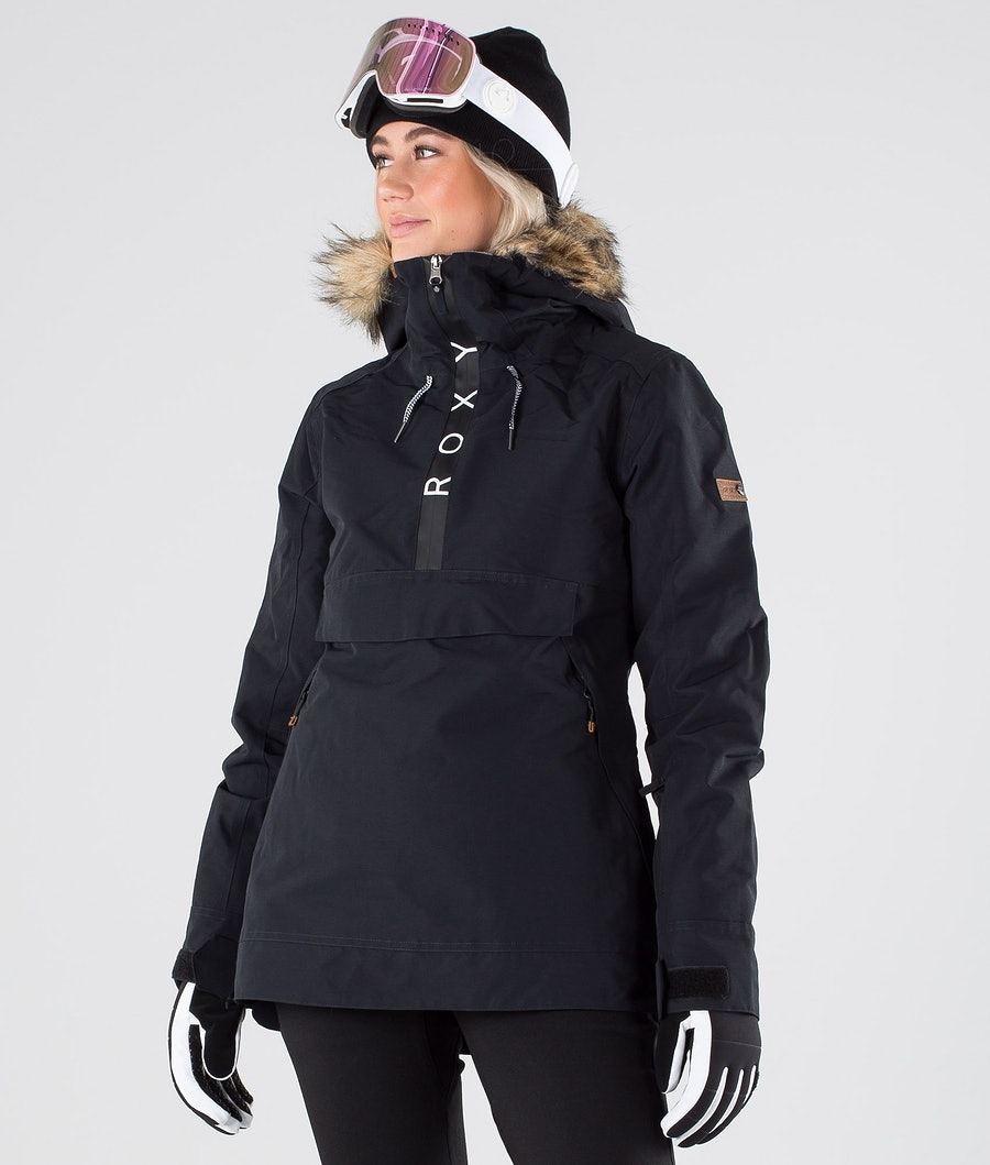 Roxy Shelter Snowboard Jacket True Black