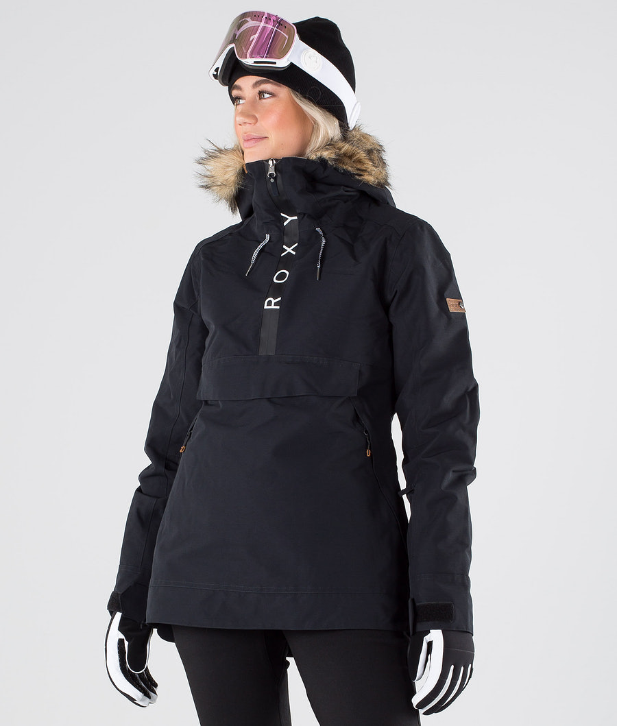 Roxy Shelter Snowboardjacka True Black