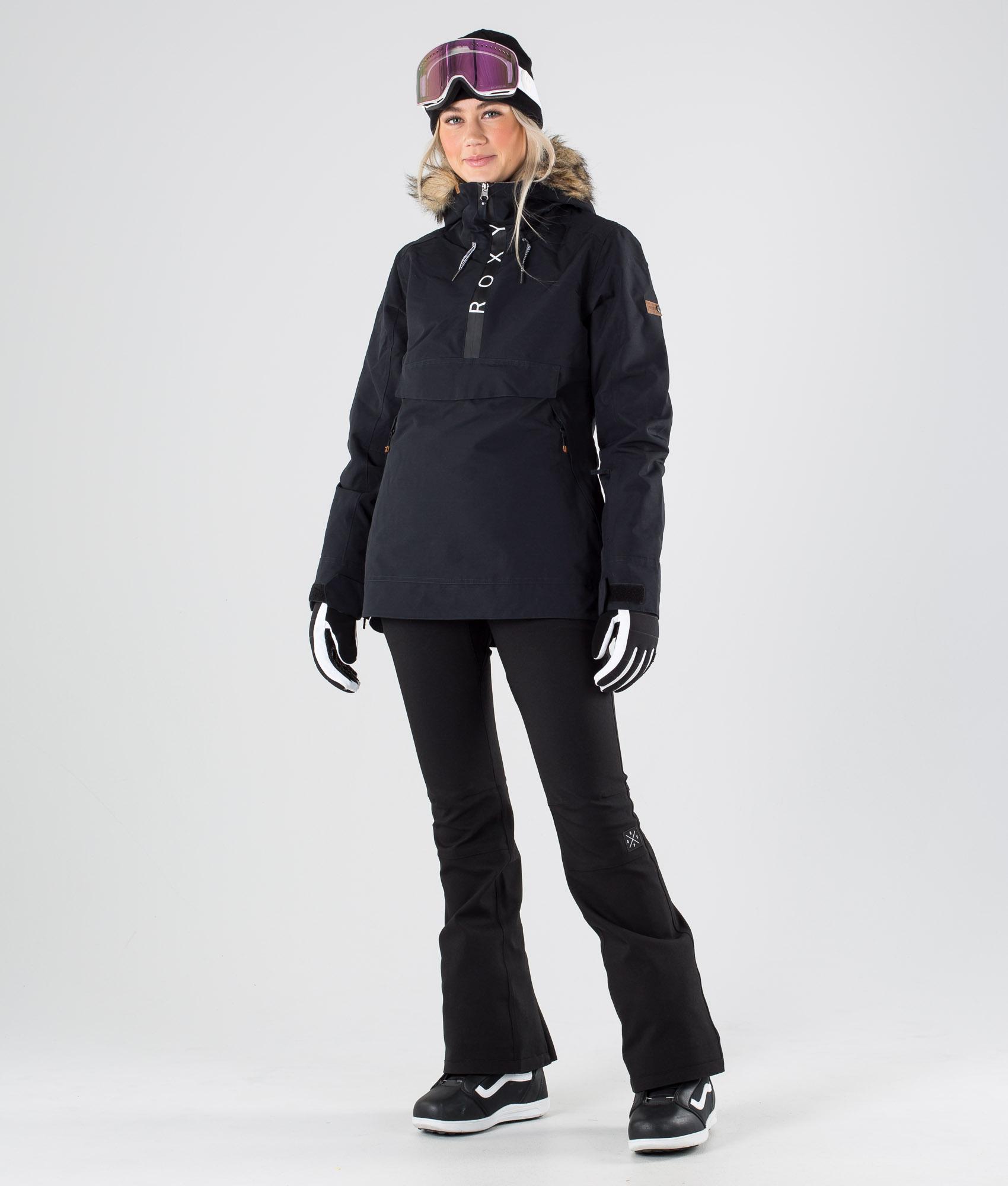 Roxy Shelter Snowboardjakke True Black Ridestore.no