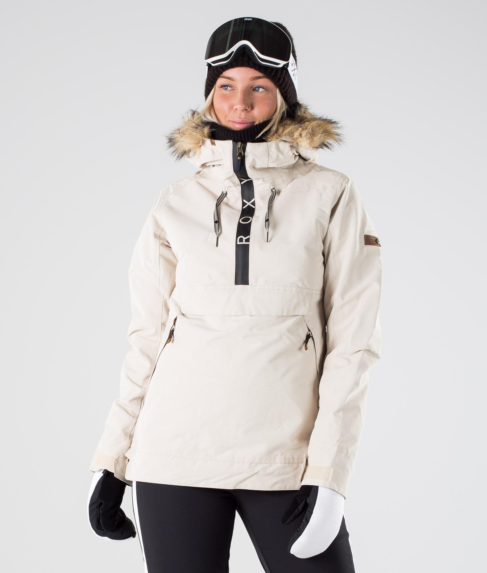 Roxy Shelter Snowboardjakke Oyster Gray Ridestore.no