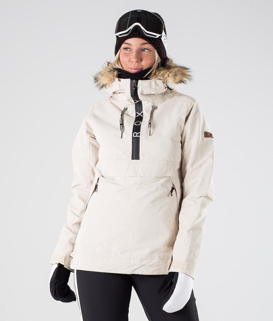 Roxy Shelter Snowboard Jacket Oyster Gray