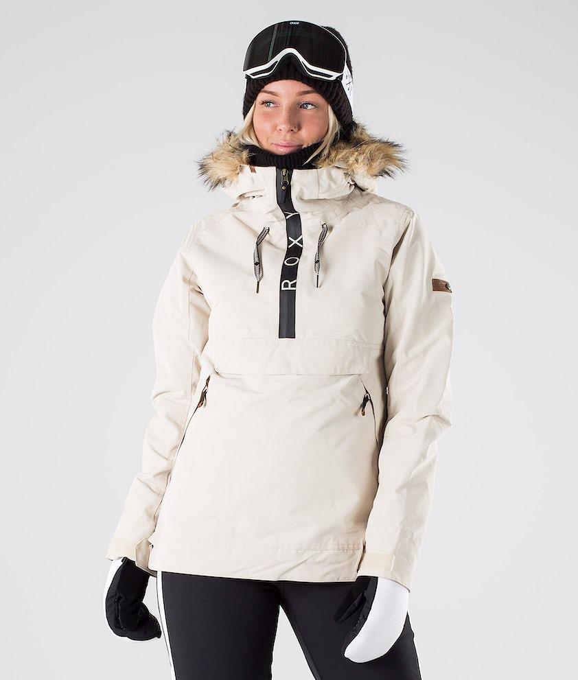 Roxy Shelter Snowboardjacke Oyster Gray