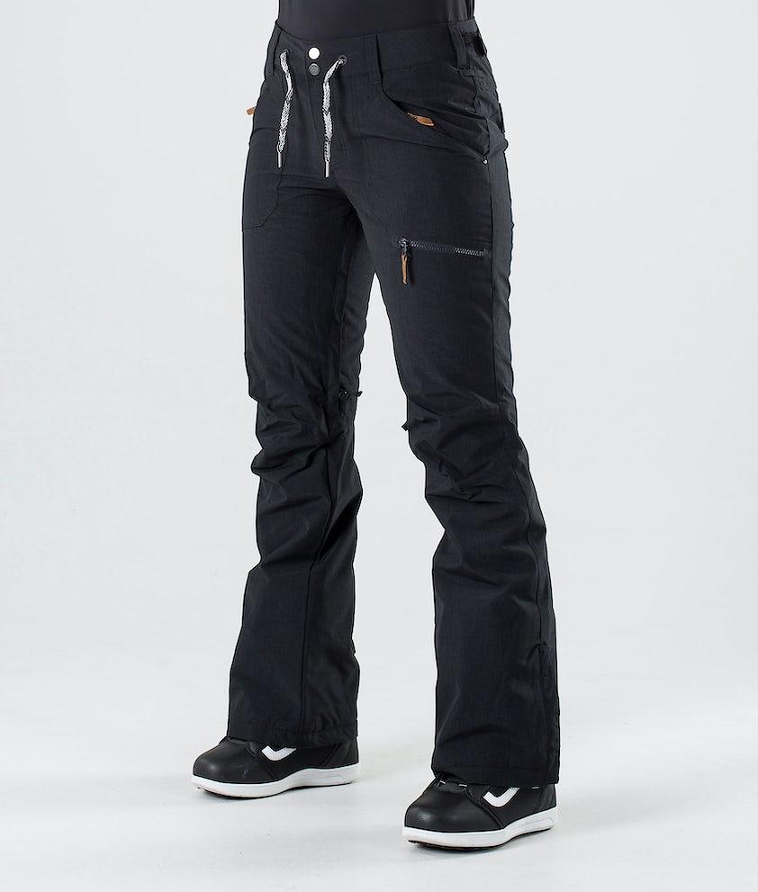 Roxy Nadia Snowboardhose True Black