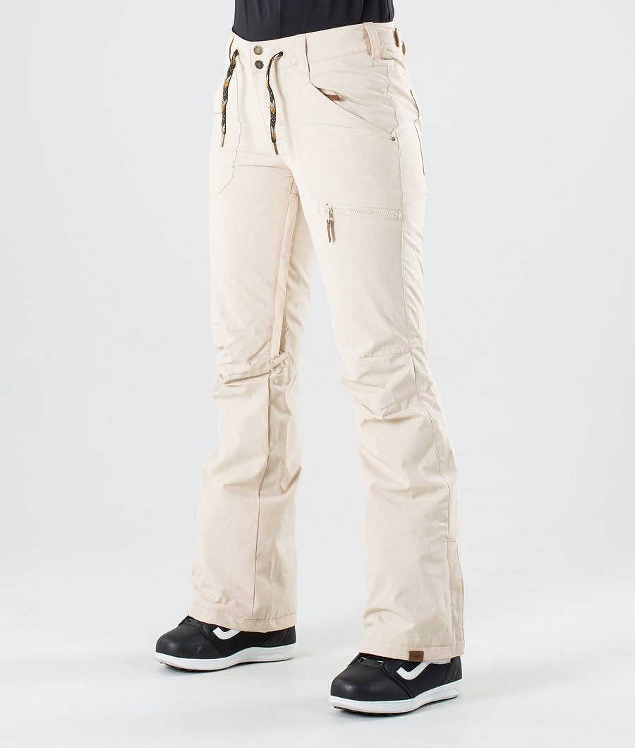 Roxy Nadia Snowboard Pants Oyster Gray