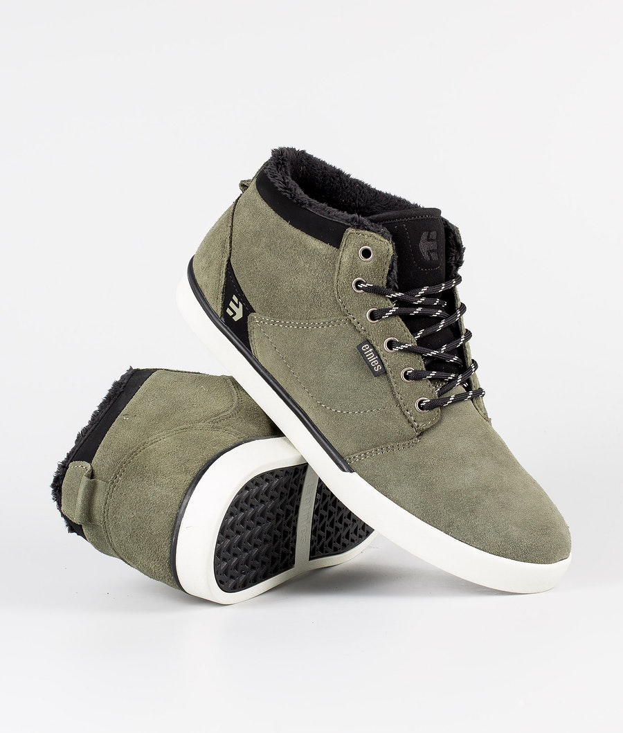 Etnies Jefferson Mid Skor Olive/Black