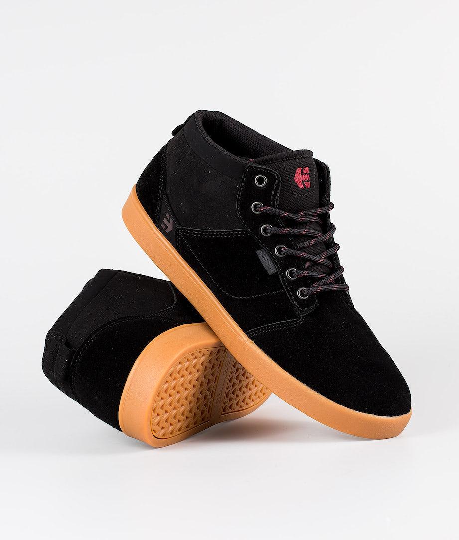 Etnies Jefferson Mid Shoes Black/Gum