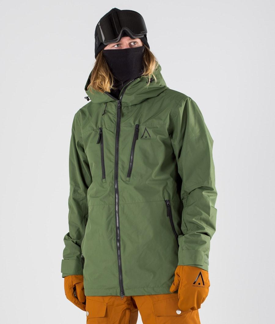 WearColour Grid Snowboardjakke Olive
