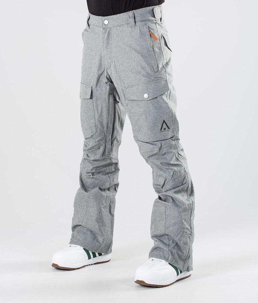 WearColour Shadow Snowboardhose Grey Melange