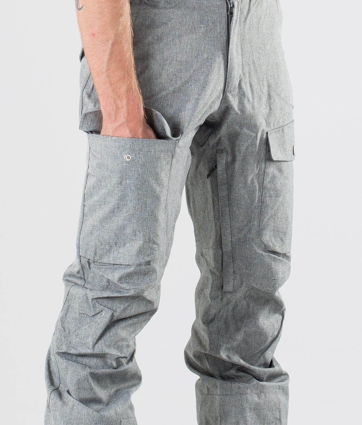 WearColour Shadow Snowboardbukse Grey Melange