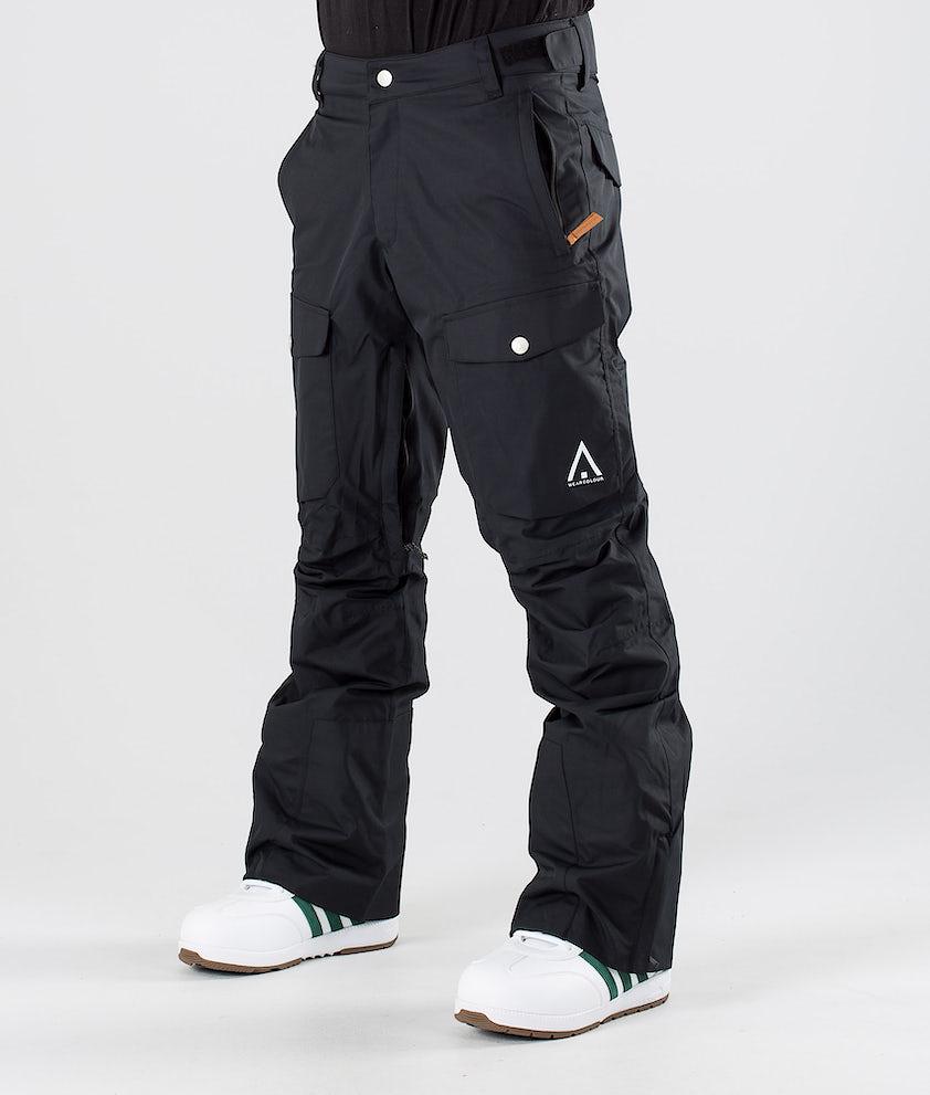 WearColour Shadow Snowboardbukse Black