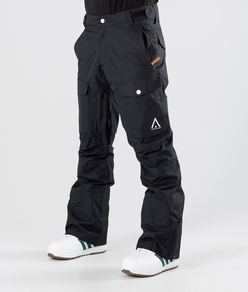 WearColour Shadow Snowboardbyxa Black