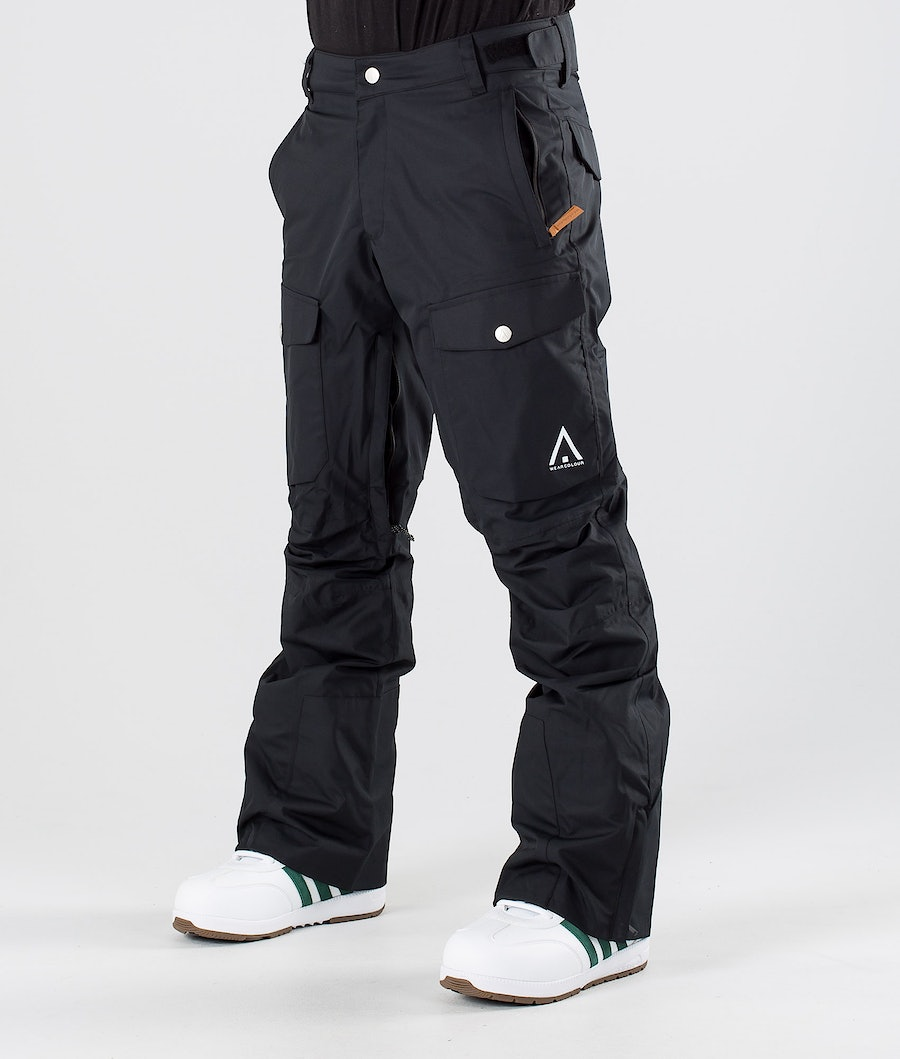 WearColour Shadow Snowboardbukse Black
