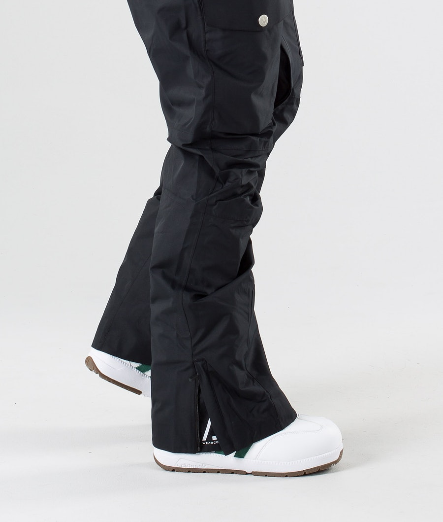 WearColour Shadow Snowboardbyxa Black