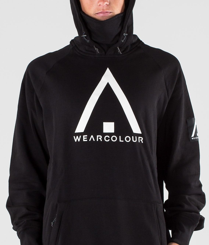WearColour Bowl Hood Black