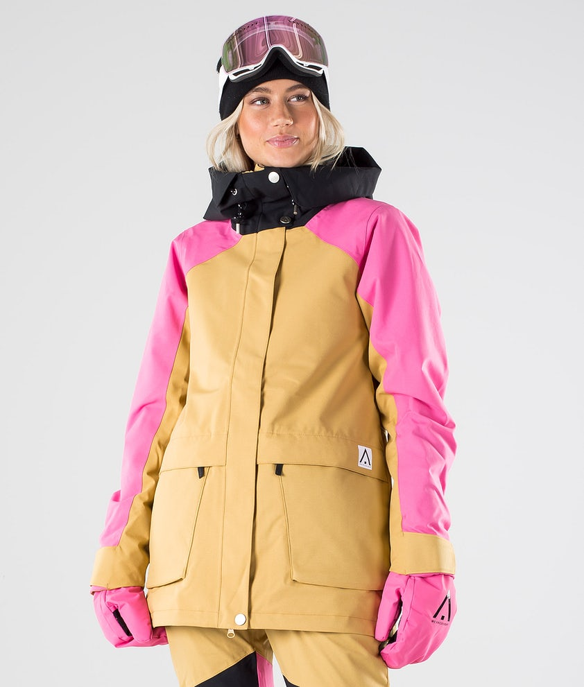 WearColour Blaze Snowboard Jacket Sand
