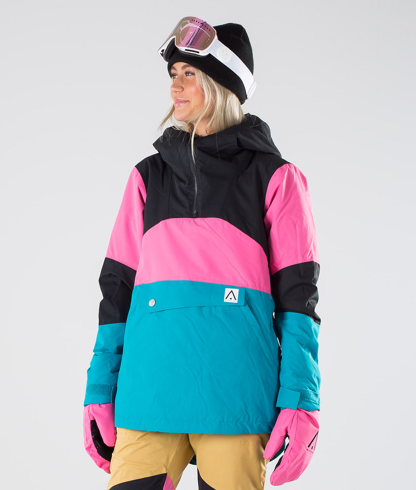 WearColour Homage Anorak Snowboardjakke Enamel Blue