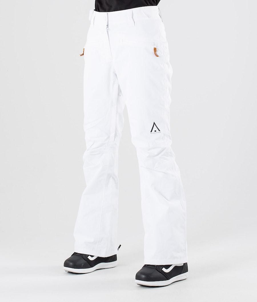 WearColour Cork Snowboardbyxa White
