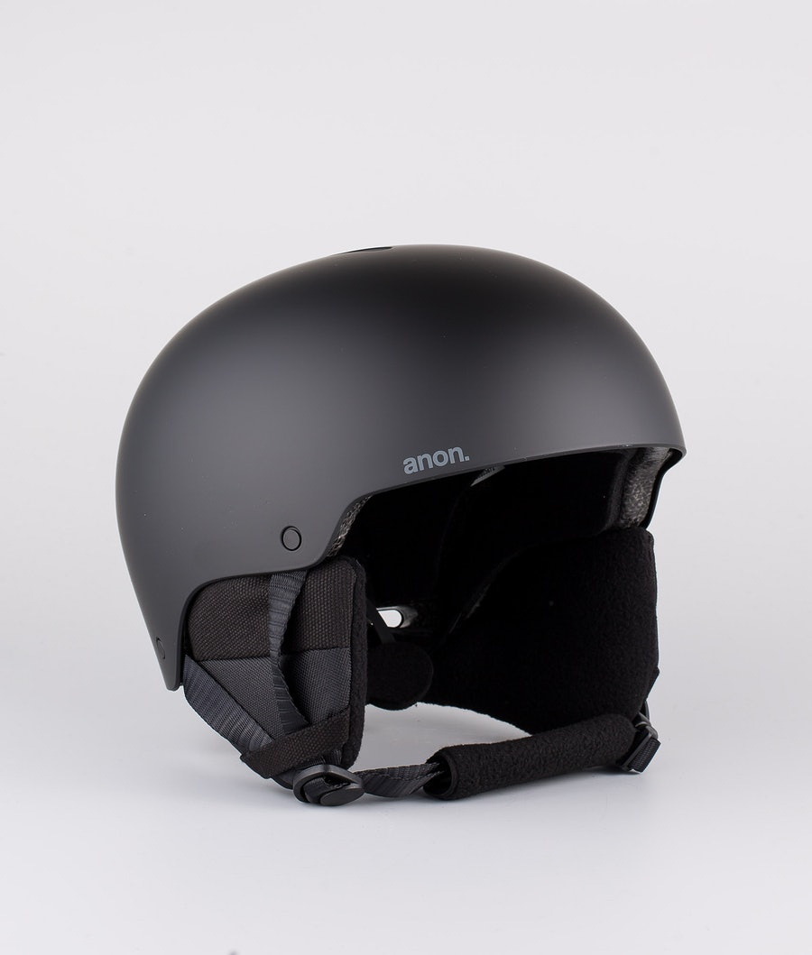 Anon Raider 3 Casco Snow Black