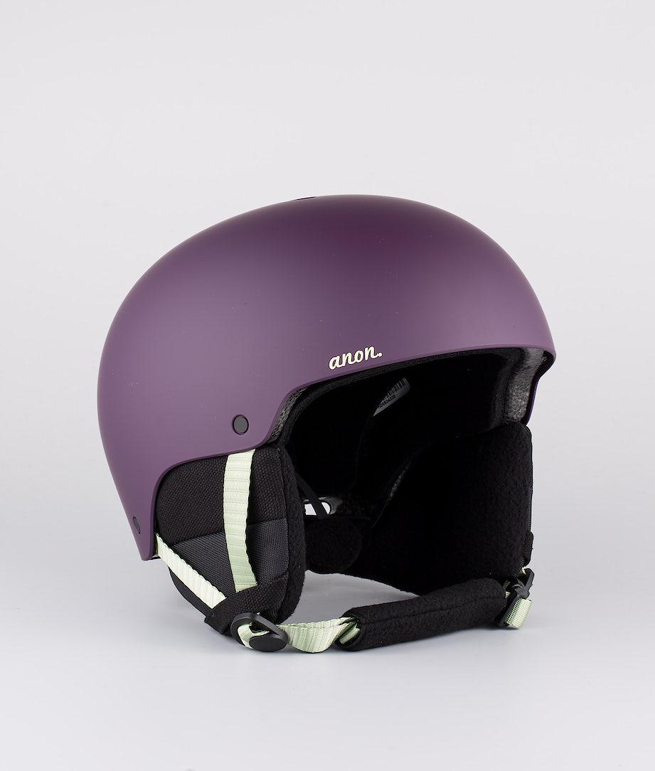 Anon Greta 3 Ski Helmet Purple Eu