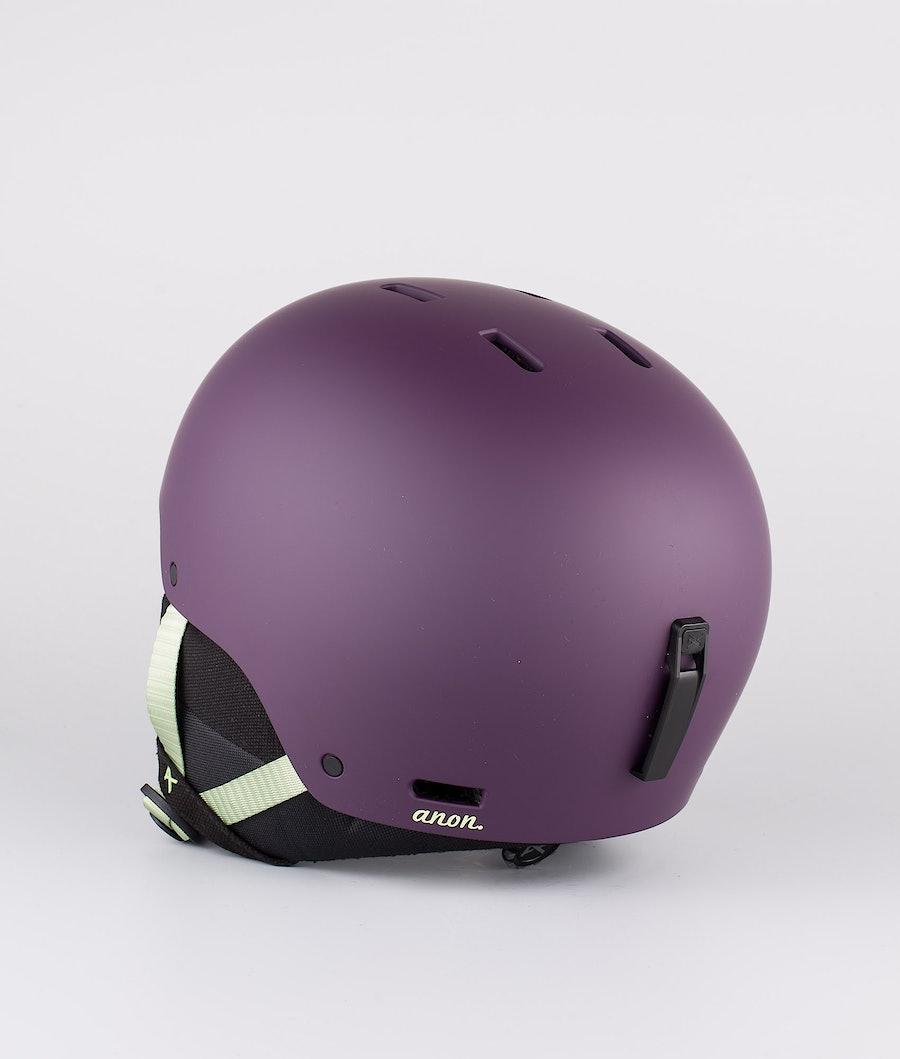 Anon Greta 3 Skihelm Damen Purple Eu