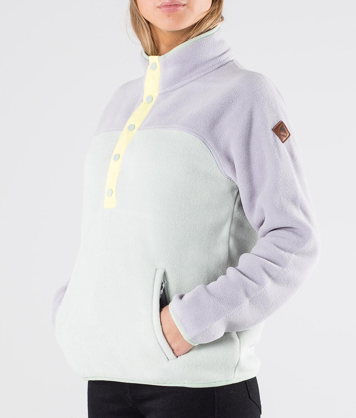 Burton Hearth Fleece Tröja Lilac/Aquagr