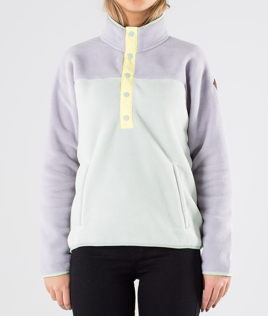 Burton Hearth Fleece Tröja Dam Lilac/Aquagr