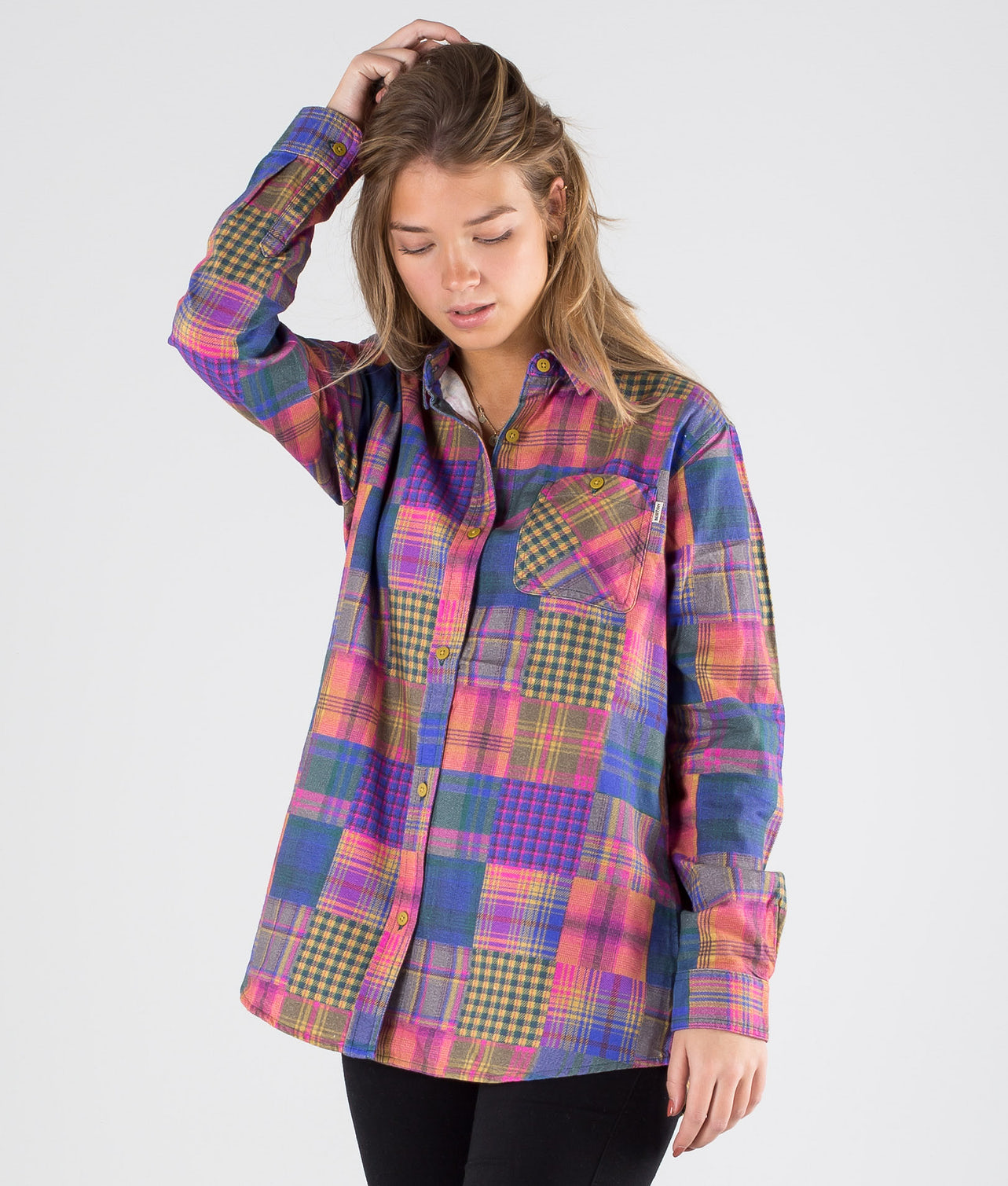 Kjøp Grace Premium Flanel Skjorte fra Burton på Ridestore.no - Hos oss har du alltid fri frakt, fri retur og 30 dagers åpent kjøp!