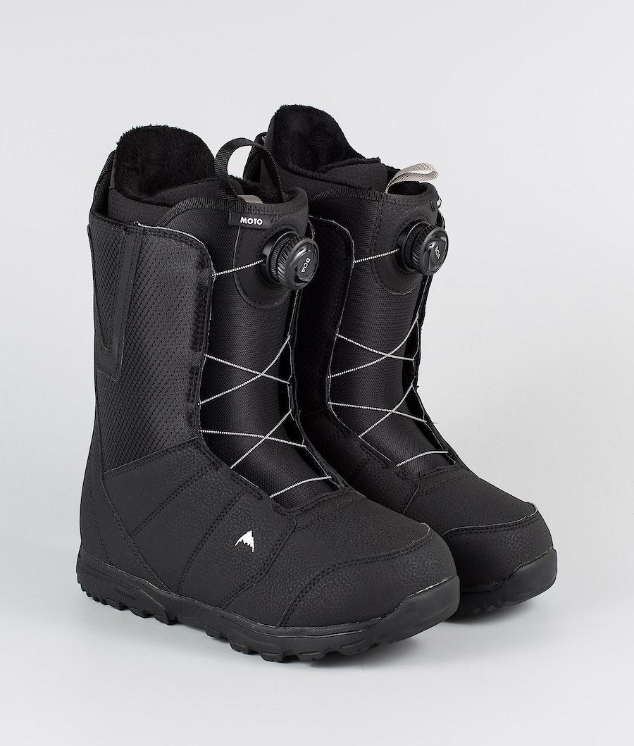 Burton Moto Boa Snowboard Boots Black