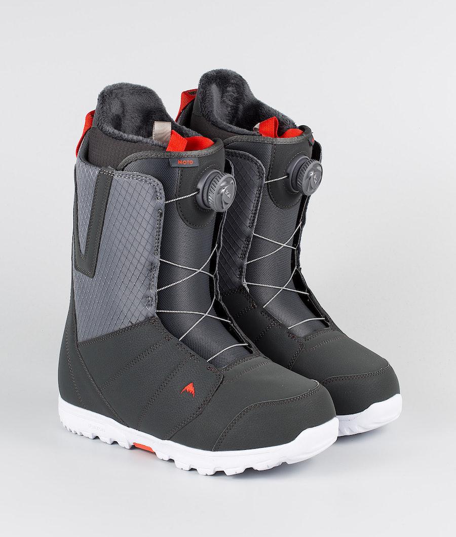 Burton Moto Boa Snowboardboots Gray/Red