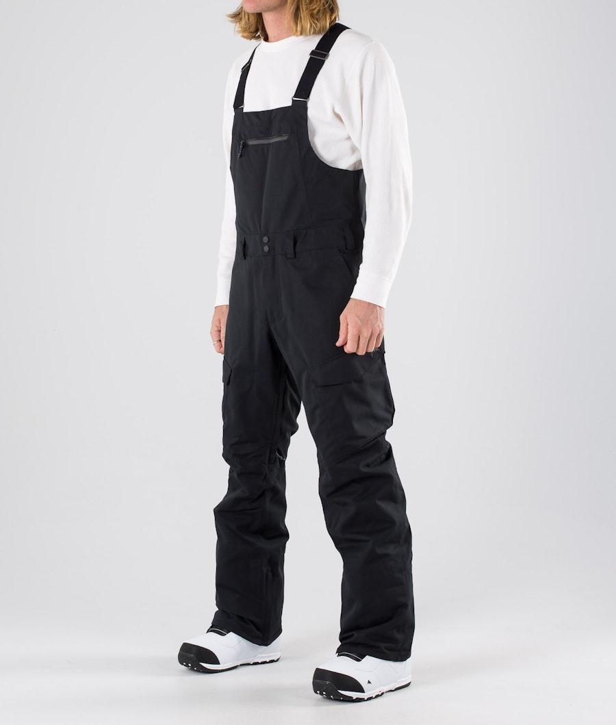 Burton Reserve Bib Pantaloni da snowboard True Black