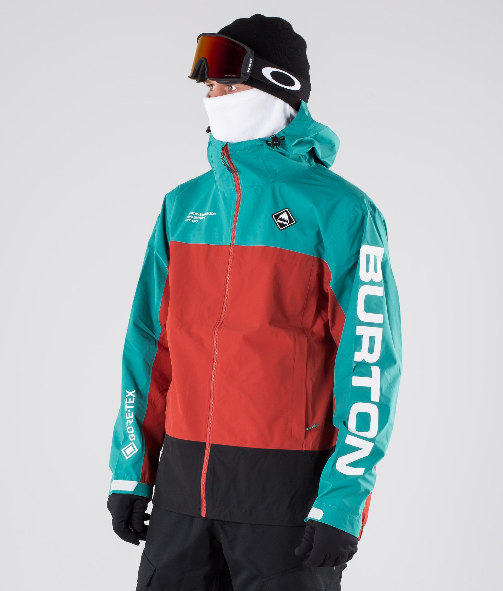 Burton Gore tex jakke, str S, turkis | FINN.no