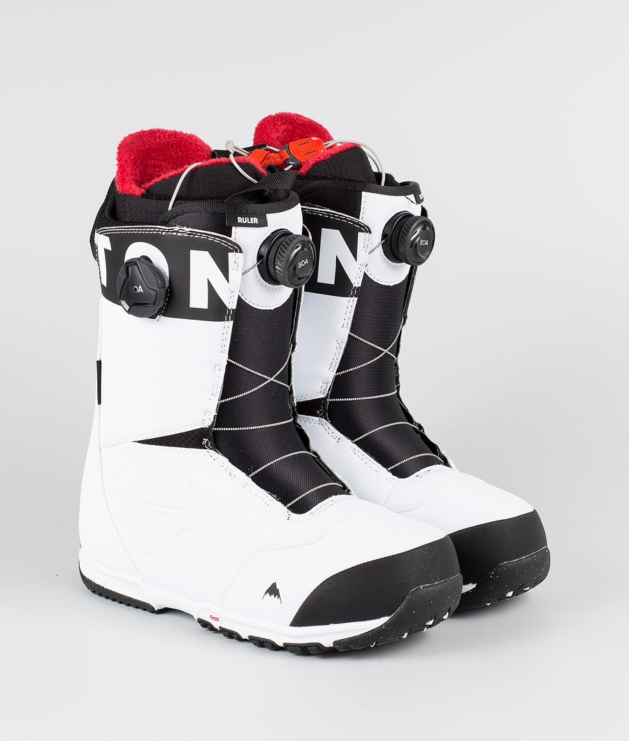 Burton Ruler Boa Boots White/Black