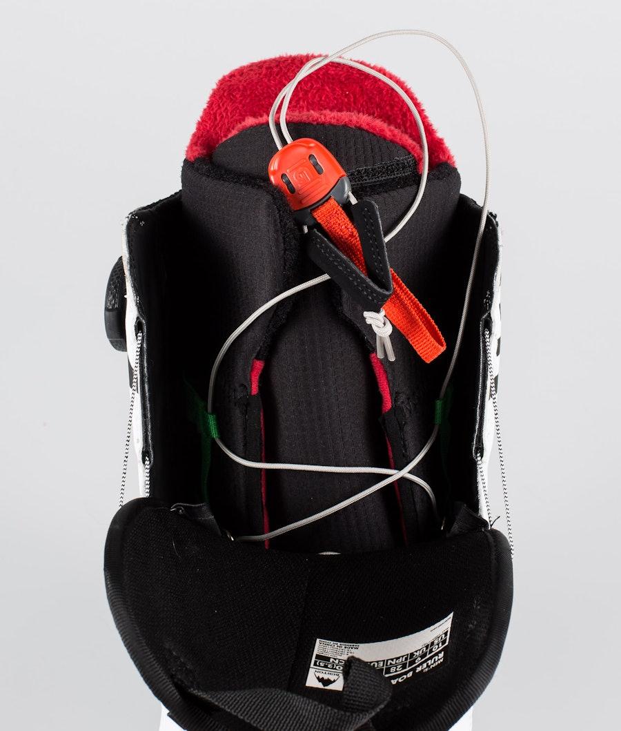 Burton Ruler Boa Boots White/Black