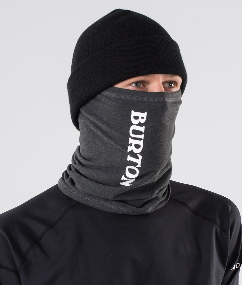Burton Expedition Neckwarmer Facemask True Black Heather