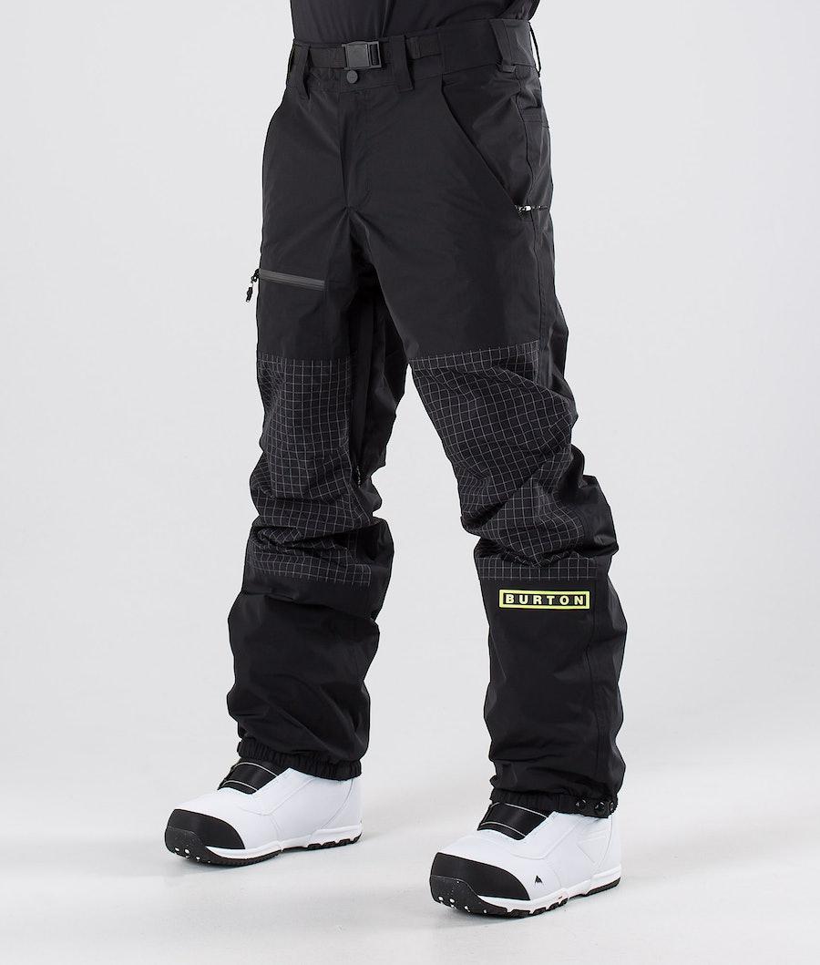 Burton Frostner Pantalon de Snowboard True Black/True Black Ripstop