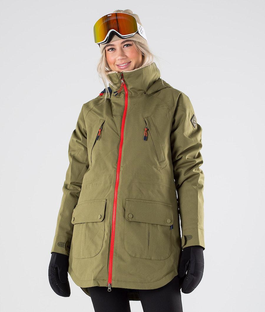 Burton Prowess Snowboard Jacket Martini Olive