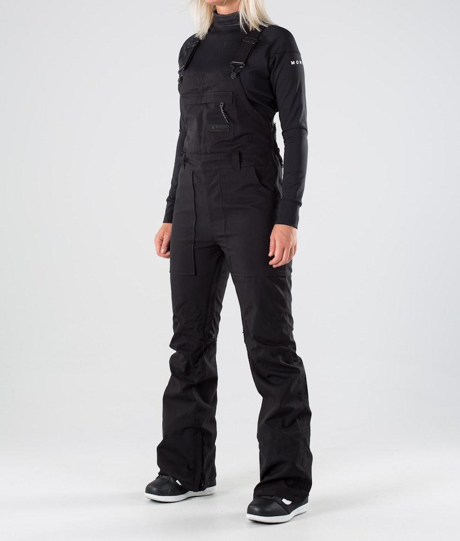 Burton Avalon Bib Snowboard Pants True Black