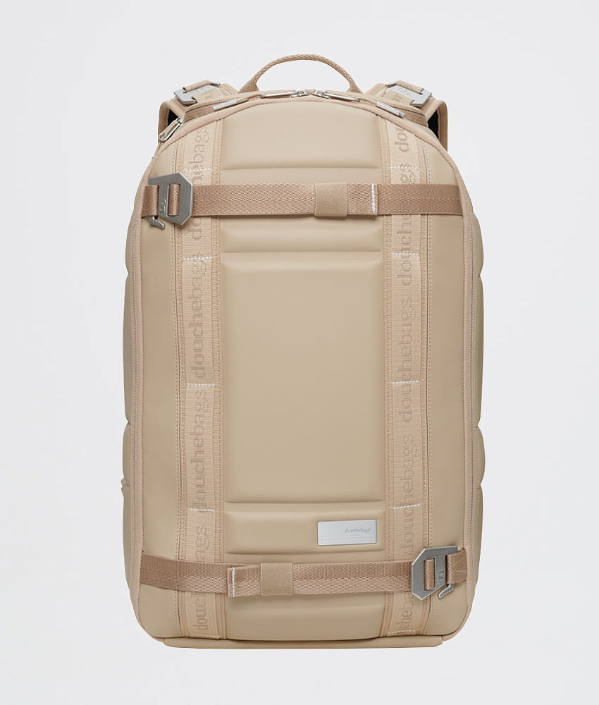 Douchebags The Backpack Snow Bag Desert Khaki Leather