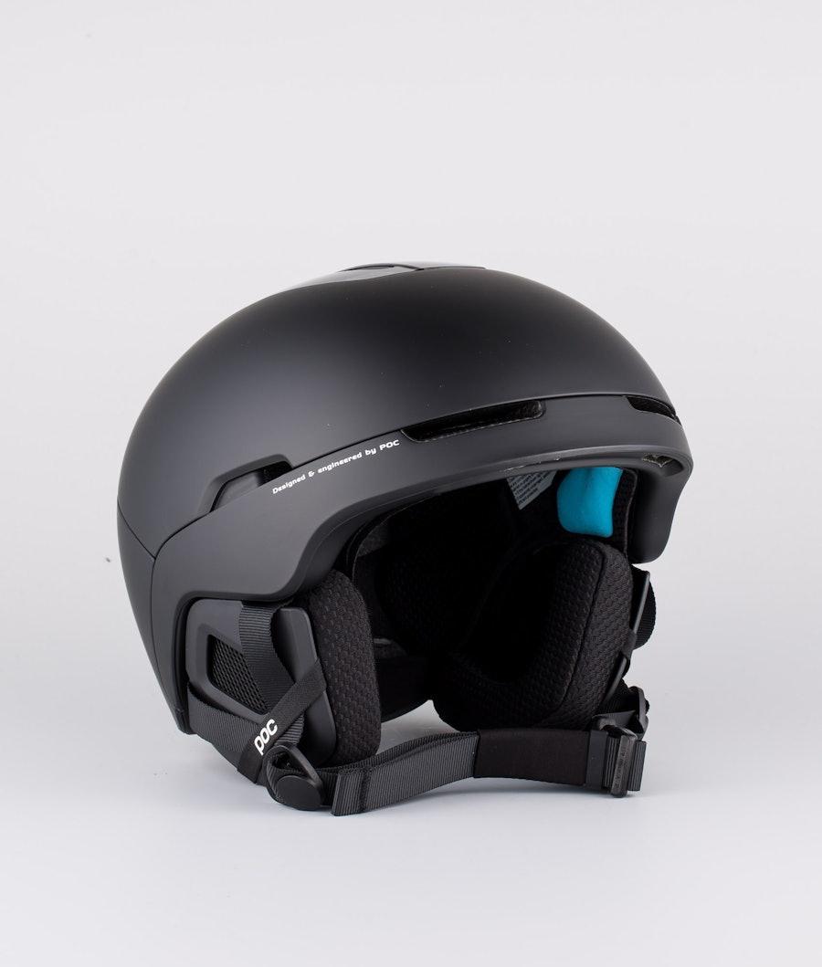 Poc Obex SPIN Skihjelm Uranium Black