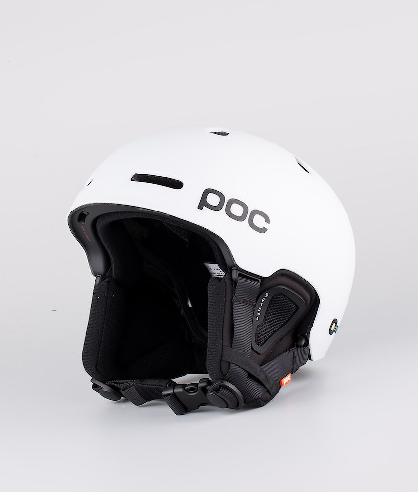 Poc Fornix Casco Snow Matt White