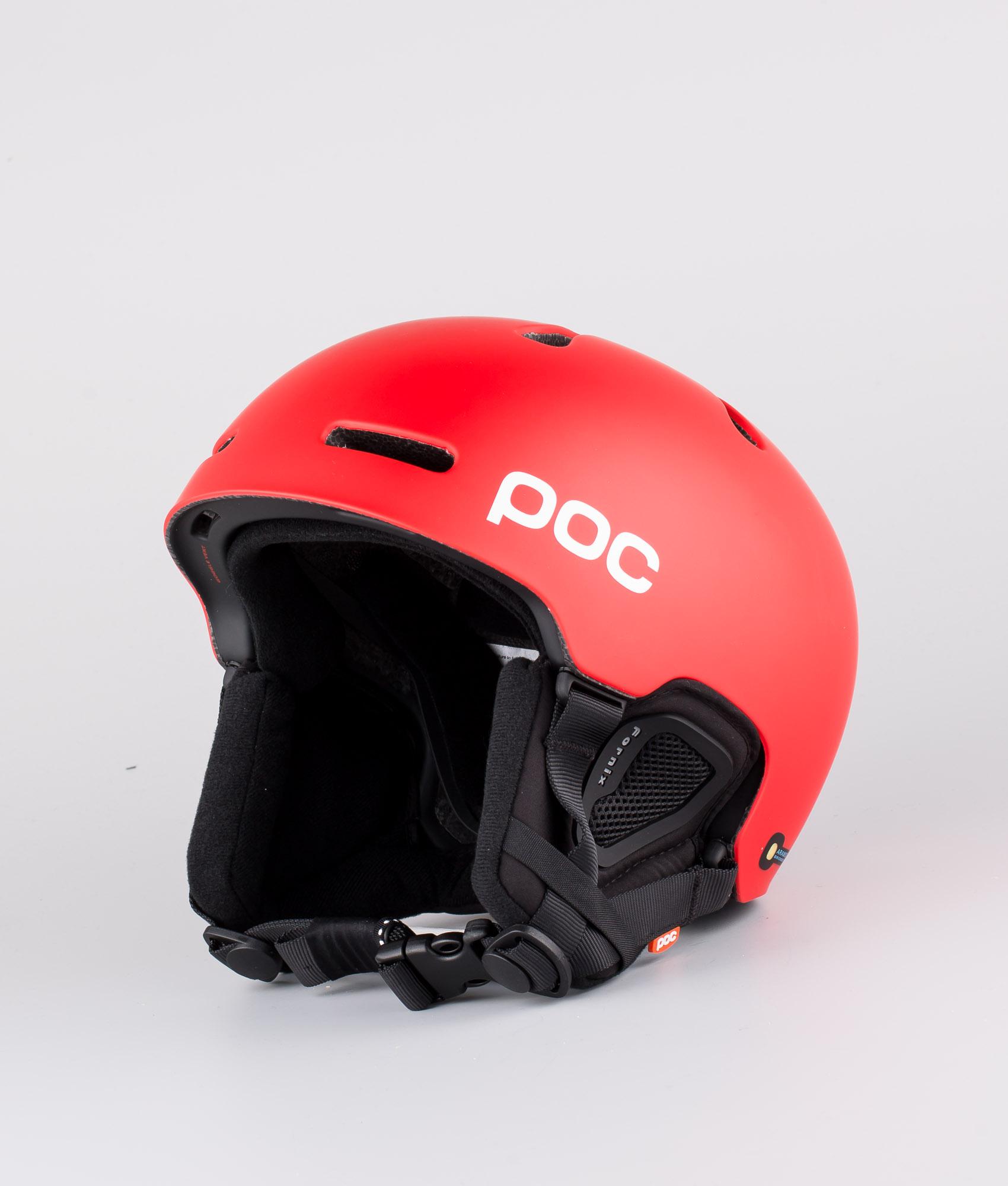 Poc Fornix Ski Helmet Prismane Red Ridestore Com