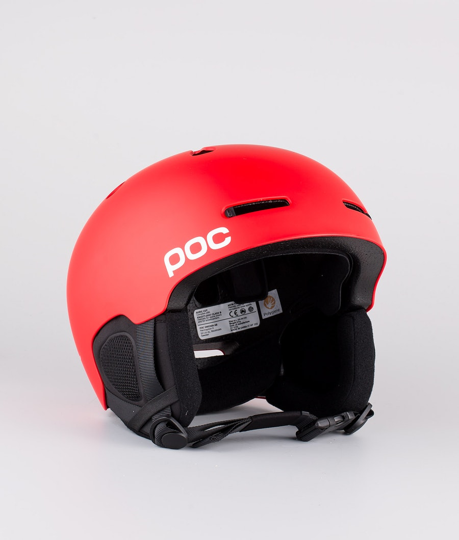 Poc Auric Cut Casco Snow Prismane Red