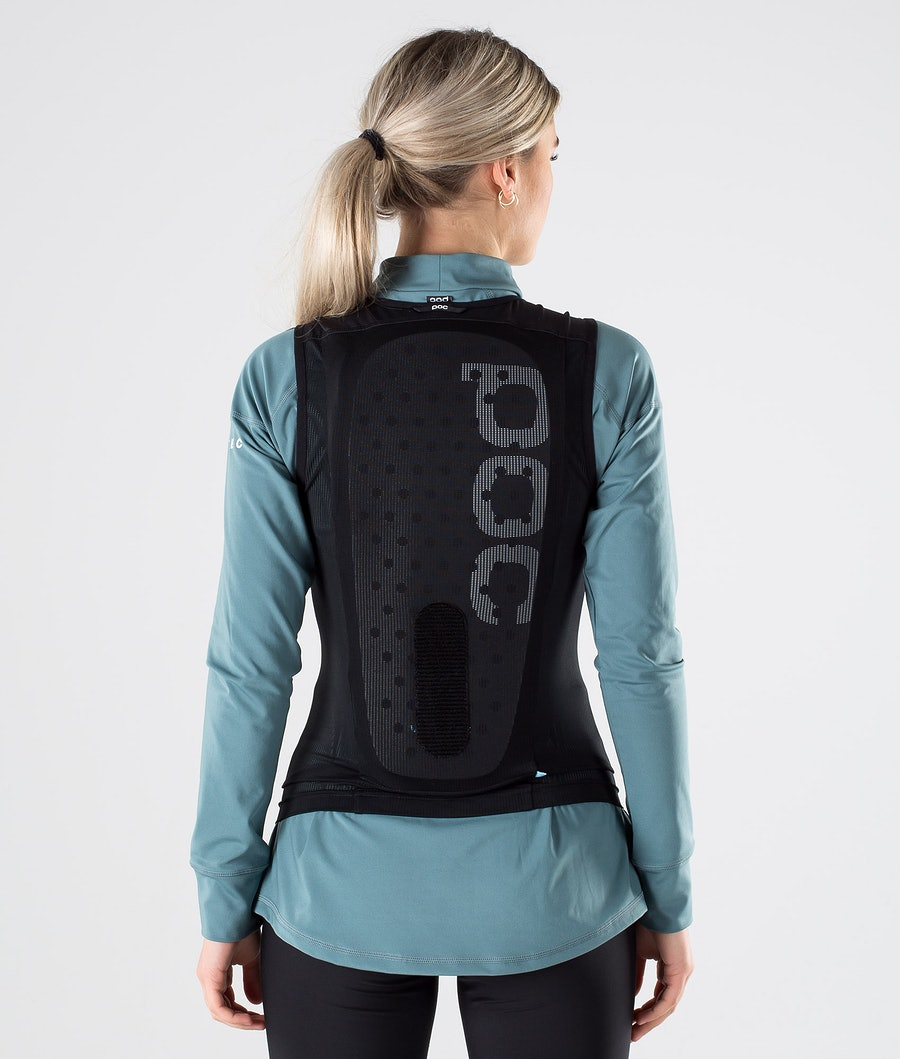 Poc Spine VPD Air WO Vest Slim Suoja Uranium Black