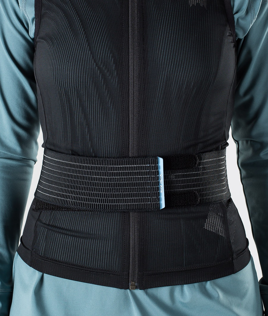 Poc Spine VPD Air WO Vest Slim Skydd Dam Uranium Black