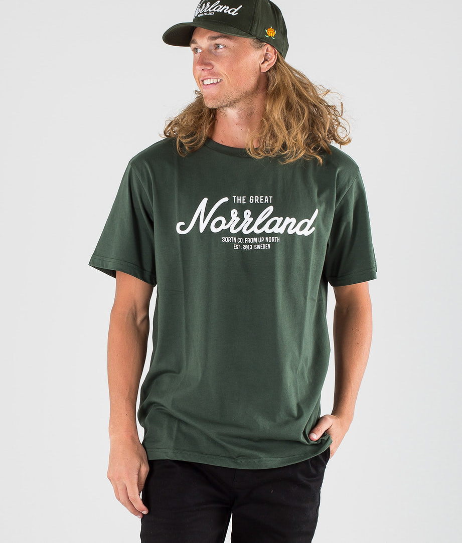 SQRTN Great Norrland T-shirt Dark Olive