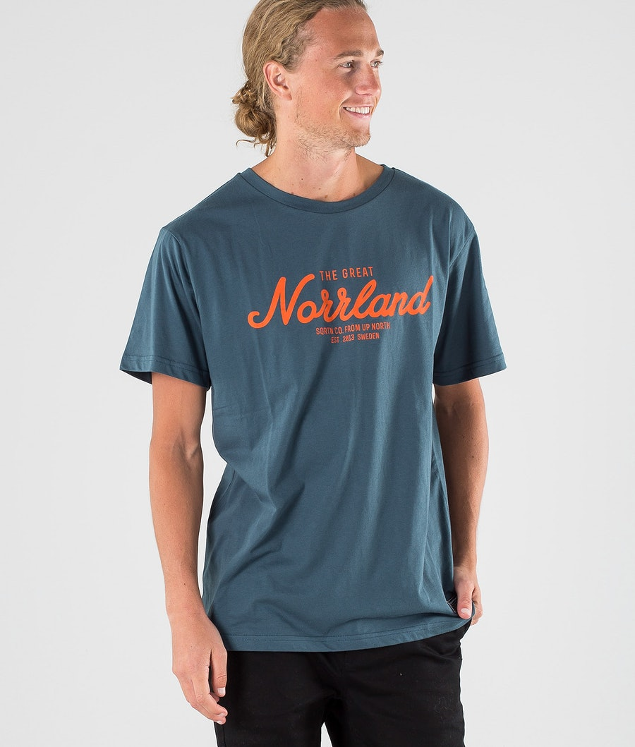 SQRTN Great Norrland T-shirt Petrol