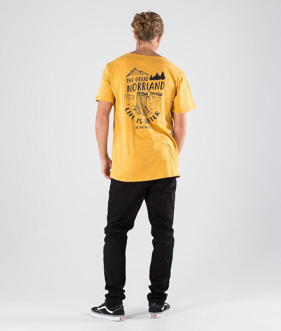 SQRTN Stock Pocket T-shirt Mustard