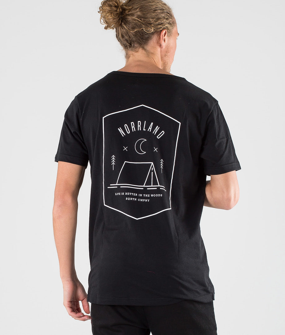 SQRTN Tent Pocket T-shirt Black